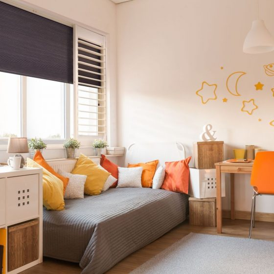 ShutterShade Orange Bedroom preview