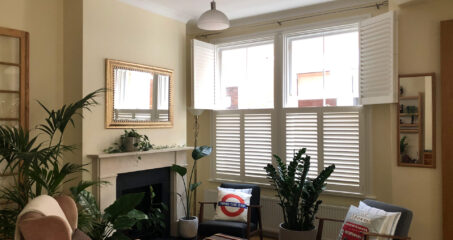 Tier on tier shutters in Twickenham