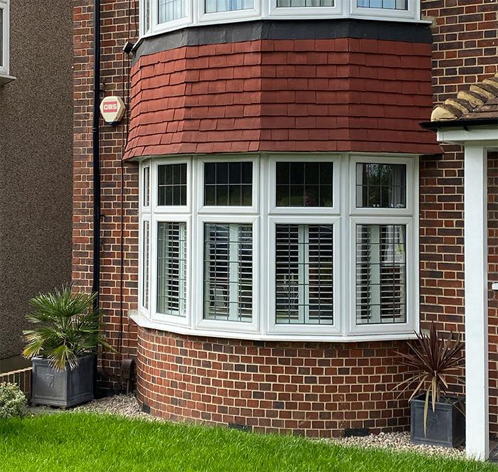 Bay window shutters have kerb appeal